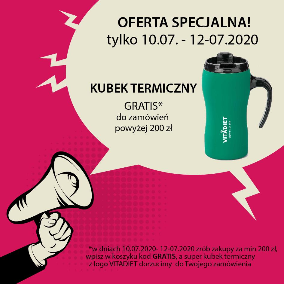 OFERTA SPECJALNA - KUBEK GRATIS